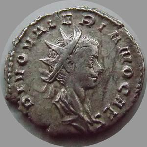 Consacratio 257-258 Antoninien Empire Romain Valérien Ii