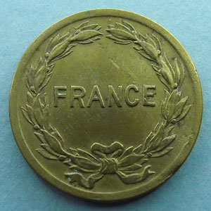 Photos numismatique Monnaies Monnaies Françaises France Libre 2 francs France, Philadelphie 2 Francs France 1944, Philadelphie, G.537 TTB