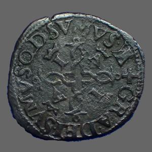 Monnaies Mittelalter Feodal Munzen Navarre Béarn Liard De Navarre