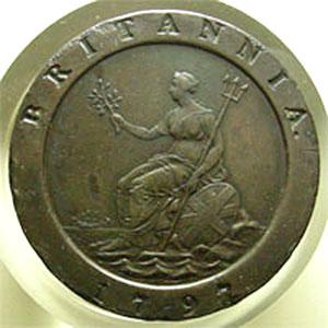 Monnaies Munzen Von Ganz Welt England 2 Pence Thierry Dumez Numismatique
