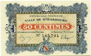 Billets billets des chambres de commerce strasbourg 50 for Chambre de commerce strasbourg