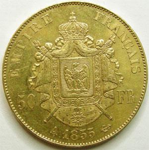 Monnaies Franzosische Moderne Gold Munzen Second Empire Napoleon