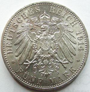 Monnaies Munzen Von Ganz Welt Allemagne Prusse Preussen Prussia 5
