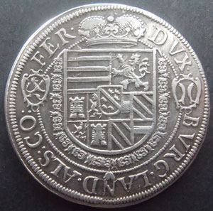 Monnaies Elsasische Munzen Elsass Habsbourg Ensisheim Elsass Taler