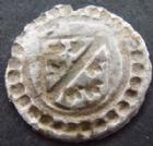 Photo numismatique  Monnaies Monnaies/medailles d'Alsace Ensisheim Rappen ENSISHEIM, Ferdinand 1564-1595, rappen, 15 mm, 0,27 grms, Klemesch.266 Bon TTB R!