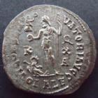 Photo numismatique  Monnaies Empire Romain LICINIUS I, LICINIO I,  Follis, folles,  LICINIUS I, Follis Alexandrie en 316-317, Iovi Conservatori Augg, 3,15 grms, RIC.18 TTB+  belle argenture!!