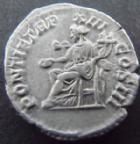 Photo numismatique  Monnaies Empire Romain CARACALLA Denier, denar, denario, denarius CARACALLA, denier Rome en 210, Pontif TRP.., 3,00 grms, RIC.116b TTB+