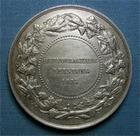 Photo numismatique  Monnaies Monnaies/medailles d'Alsace Bas Rhin généralités Médaille Médaille en argent de 46 mm Bas Rhin, unter elsass, prix d'exellence donné aux épiciers, bistrotiers…. Superbe