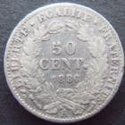 Photo numismatique  Monnaies Monnaies Françaises Troisième République 50 Centimes 50 Centimes Cérès 1886 A Paris, G.419a TB+ R!