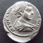 Photo numismatique  Monnaies Empire Romain CARACALLA Denier, denar, denario, denarius CARACALLA, Denier Rome en 195-198, Destinato Imperat, 3,23 grms, RIC.6 TTB