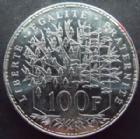 Photo numismatique  Monnaies Monnaies Françaises Cinquième république 100 Francs 100 francs Pantheon 1991, G.898 SUPERBE +