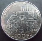 Photo numismatique  Monnaies Monnaies volées Cinquième république 100 francs libération de Paris 100 francs 1994, Libération de Paris, G.935 SUPERBE+