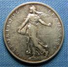 Photo numismatique  Monnaies Monnaies Françaises Troisième République 1 Franc 1 Franc type semeuse de Roty, 1906, Gadoury 467, Superbe