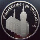 Photo numismatique  Monnaies Allemagne après 1871 Allemagne DDR, Deutschland DDR 5 Mark Allemagne, Deutschland, DDR, 5 marks 1983, schlosskirche Wittenberg, KM.89 Polierte Platte
