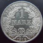 Photo numismatique  Monnaies Allemagne après 1871 Allemagne, Deutschland, Empire, Kaisereich 1 Mark Allemagne, Deutschland, Empire, Kaisereich, 1 mark 1915 A, KM.14 SUPERBE+