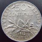 Photo numismatique  Monnaies Monnaies Françaises Troisième République 50 Centimes 50 centimes Semeuse de Roty 1913, G.420 SUPERBE/SUPERBE+