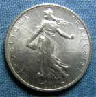 Photo numismatique  Monnaies Monnaies Françaises Troisième République 1 Franc 1 Franc type semeuse de Roty,1915, Gadoury 467, SUP à FDC