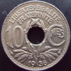 Photo numismatique  Monnaies Monnaies Françaises Troisième République 10 centimes Lindauer 10 centimes Lindauer 1936, G.286 SUPERBE