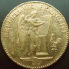 Photo numismatique  Monnaies Monnaies Française en or Troisième République 20 Francs or 20 francs or Genie 1888 A, or 900°/°° 6,45 grms, G.1063 TTB+ Rare!