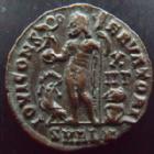 Photo numismatique  Monnaies Empire Romain LICINIUS I, LICINIO I,  Follis, folles,  LICINIUS I, Follis Alexandrie en 321-324, buste radié, 4,01 grms, RIC.28 SUPERBE
