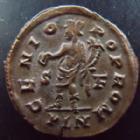 Photo numismatique  Monnaies Empire Romain LICINIUS I, LICINIO I,  Follis, folles,  LICINIUS I, Follis Londres en 315, Genio Pop Rom, 3,31 grms, RIC.73 TTB à SUPERBE