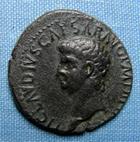 Photo numismatique  Monnaies Empire Romain 1er Siècle CLAUDE I As, asse,  CLAUDE Ier As frappé à Rome en 42, RIC 113 TTB