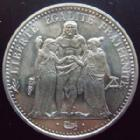 Photo numismatique  Monnaies Monnaies Fran�aises Cinqui�me r�publique 10 Francs 10 francs Hercule 1973, G.813 SUPERBE � FDC