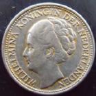 Photo numismatique  Monnaies Monnaies étrangères Pays Bas, Hollande, Netherland, Curacao 1/10 eme de Gulden Pays Bas, Hollande, Netherland, Curacao, 1/10 ème de Gulden argent, 1944, Bon TTB/TTB+