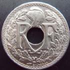 Photo numismatique  Monnaies Monnaies Françaises Troisième République 25 centimes Lindauer 25 centimes Lindauer 1914 souligné, G.379 SUPERBE+
