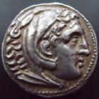 Photo numismatique  Monnaies Monnaies grecques Amphipolis,  Tétradrachme ALEXANDRE III le grand, ALEXANDER III, tétradrachme Amphipolis, frappe posthume sous Philippe III, 336-325, 17,16 grms, Price.474 SUPERBE