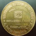Photo numismatique  Monnaies Jetons Jetons publicitaire, Jeton de commerce, Jeton de magasin jeton en laiton Paris, A.Boulenger, orfevrerie, jeton 30 mm, TTB+
