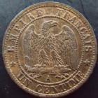 Photo numismatique  Monnaies Monnaies Françaises Second Empire 1 Centime NAPOLEON III, 1 centime 1870 A Paris, G.87 SUPERBE Rare!