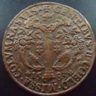 Photo numismatique  Monnaies Monnaies/médailles de Lorraine Charles III Jeton rond LORRAINE, Charles III, jeton 27 mm, Bureau des comptes, 1583, F.7474 TB à TTB/TTB