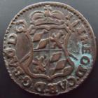 Photo numismatique  Monnaies Monnaies étrangères Belgique, Belgie, Belgien, Liège Liard Belgique, Belgie, Belgien, Liège, jean Théodore, liard 1750, KM.155 TTB