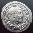 Photo numismatique  Monnaies Empire Romain MAXIMIN I, MAXIMINUS I, MAXIMINO I Denier, denar, denario, denarius MAXIMINUS Thrax, MAXIMIN le Thrace, denier Rome en 235, Providentia Aug, 2,88 grms, RIC.13 SUPERBE+/TTB+