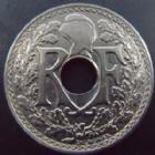 Photo numismatique  Monnaies Monnaies Françaises Troisième République 25 centimes Lindauer 25 centimes Lindauer 1916, G.379 TTB à SUPERBE R!