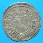 Photo numismatique  Monnaies Monnaies/medailles d'Alsace Colmar 3 Kreuzers COLMAR Rodolphe II 3 Kreuzers 1576.1612 EL.74 V TTB