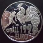 Photo numismatique  Monnaies Euros Jeux Olympique, coupe du monde, championnat 20 euros, Essai Football 1998, 20 euros