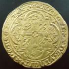Photo numismatique  Monnaies Monnaies royales en or Charles V Franc à pied CHARLES V, franc à pied, 20 Avril 1365, 3,78 grms, DY.360 TTB