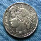 Photo numismatique  Monnaies Monnaies Françaises Deuxième République 50 Centimes IIème République, 50 Centimes Cérès 1850 A, Gadoury 411 SUP à FDC