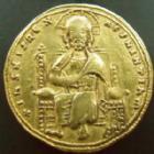 Photo numismatique  Monnaies Monnaies Byzantines 11ème siècle histamenon ROMANUS III Agyrus, 1028-1034, histamenon Constantinople, 4,39 grms, S.1819 TTB