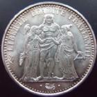 Photo numismatique  Monnaies Monnaies Françaises Cinquième république 10 Francs 10 francs Hercule 1973, G.813 SUPERBE à FDC