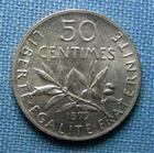 Photo numismatique  Monnaies Monnaies Françaises Troisième République  IIIème République, 50 Centimes type semeuse 1899, Gadoury 420 SUP à FDC