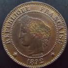 Photo numismatique  Monnaies Monnaies Françaises Troisième République 2 Centimes 2 centimes Cérès 1892 A, G.105 SUPERBE