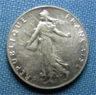 Photo numismatique  Monnaies Monnaies Françaises Troisième République 50 Centimes IIIème République, 50 Centimes type semeuse 1900, Gadoury 420 SUPERBE +