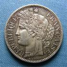 Photo numismatique  Monnaies Monnaies Françaises Défense nationale 2 Francs Gouvernement de la défense nationnale, 2 Francs type cérès 1870 A, Gadoury 530 SUPERBE+