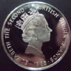 Photo numismatique  Monnaies Monnaies étrangères Britisch Virgin Island, Grande Bretagne, Virgin Island 20 Dollars argent, proof Grande Bretagne Virgin Islands, Britisch Virgin Islands, 20 dollars argent 1985, Proof