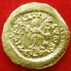 Photo numismatique  Monnaies Empire Romain LEON I, LEO I Tremissis LEON Ier, LEO I, tremissis or, Constantinople en 457-474, Victoria Augustorum, 1,48 grms, RIC.611 TTB à SUPERBE