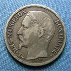 Photo numismatique  Monnaies Monnaies Françaises Deuxième République 1 Franc IIème République, LOUIS NAPOLEON BONAPARTE, 1 Franc 1852 A Paris, Gadoury 458 TB+