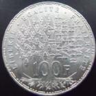 Photo numismatique  Monnaies Monnaies Françaises Cinquième république 100 francs Panthéon 100 francs Panthéon 1989, G.898 petits coups sur tranche sinon SUPERBE+